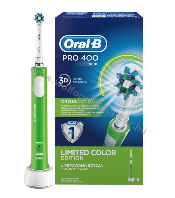 Fogkefe elektromos ORAL-B D16 PRO400Color CrossAction