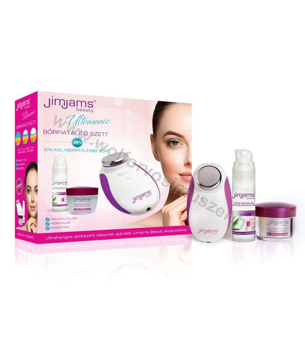 Masszírozó elektromos ULTRASONIC JimJams Beauty