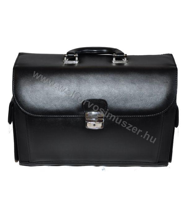 Orvosi táska bör ER-1 38x27x18 cm sötét barna 89dd9baaf0